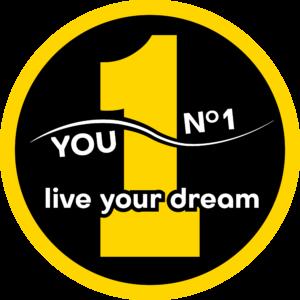 Logo żółty-czarny-biały